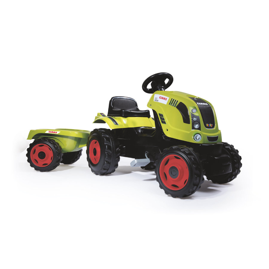 SMOBY Trattore Farmer XL CLAAS ARION 400 con rimorchio
