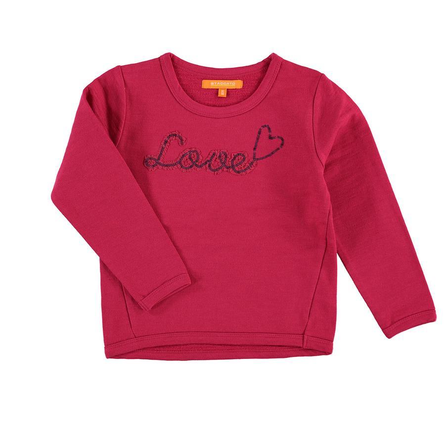 STACCATO Girls Sweatshirt rasberry