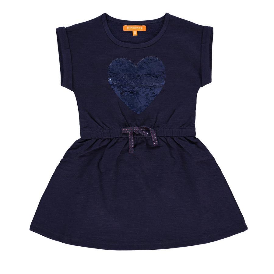 STACCATO Girls Sweatkleid deep blue