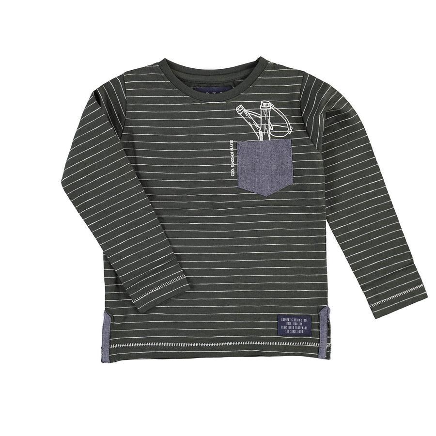 STACCATO Boys Camisa de manga larga con rayas de abeto