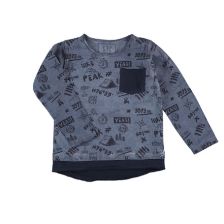 STACCATO Boys Chemise manches longues marine