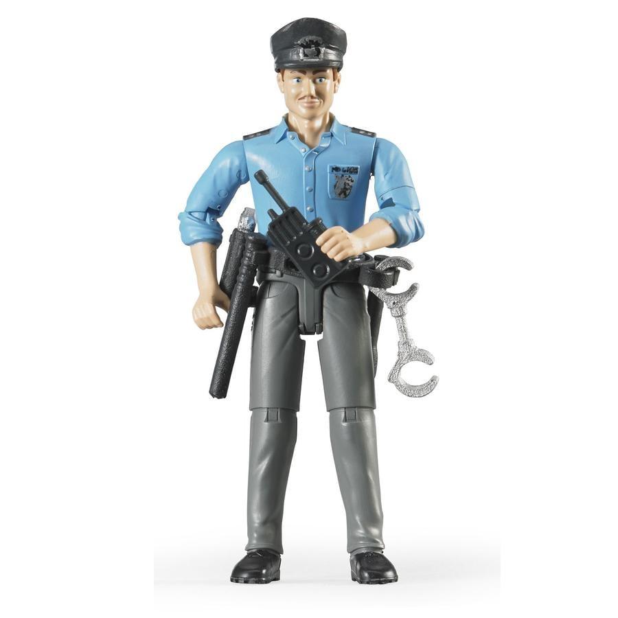 bruder® Accesorios - Figura de policía rubio 60050
