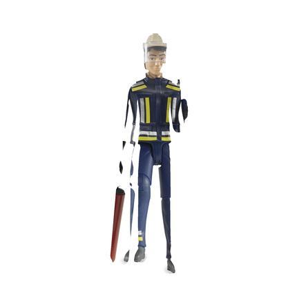 BRUDER® Accessoires - Brandweerman met toebehoren