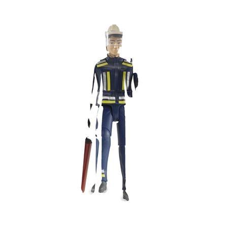 bruder® Zubehör - Feuerwehrmann mit Zubehör 60100