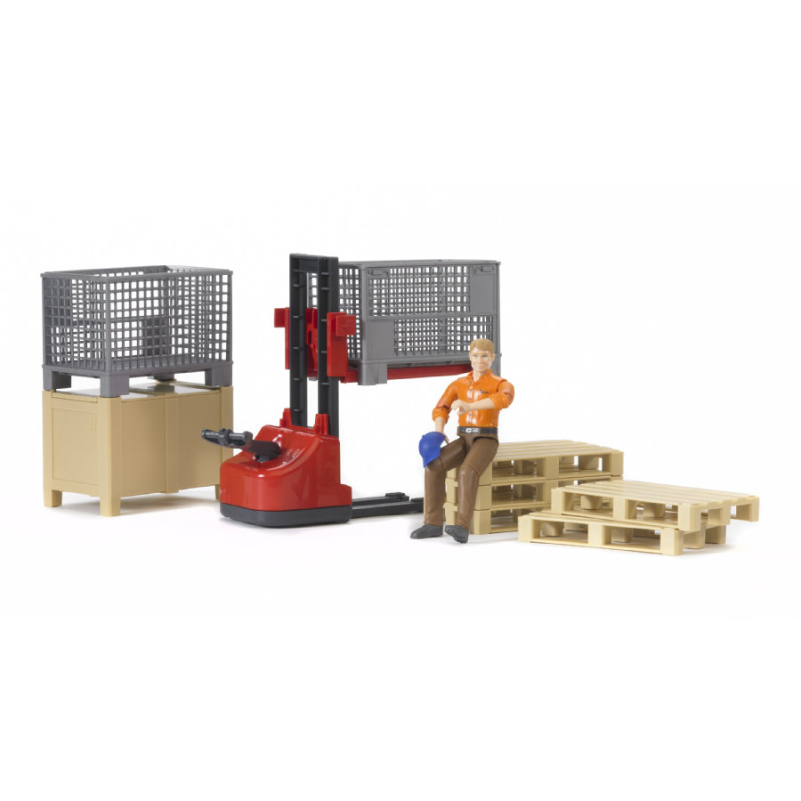 bruder® Figurenset Logistik 62200