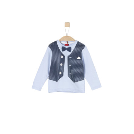 s.Oliver Langarmshirt light blue
