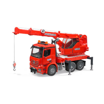 bruder® MB Acros Kran-LKW mit Light & Sound Module 03670