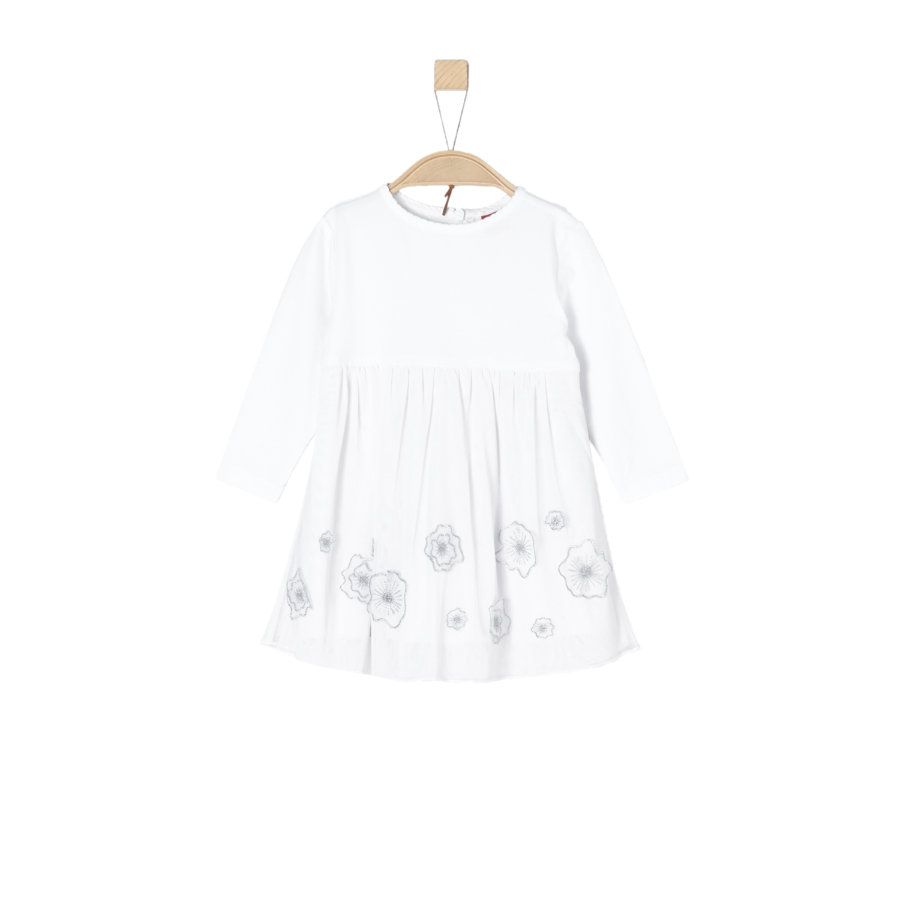 s.Oliver Girls Kleid white