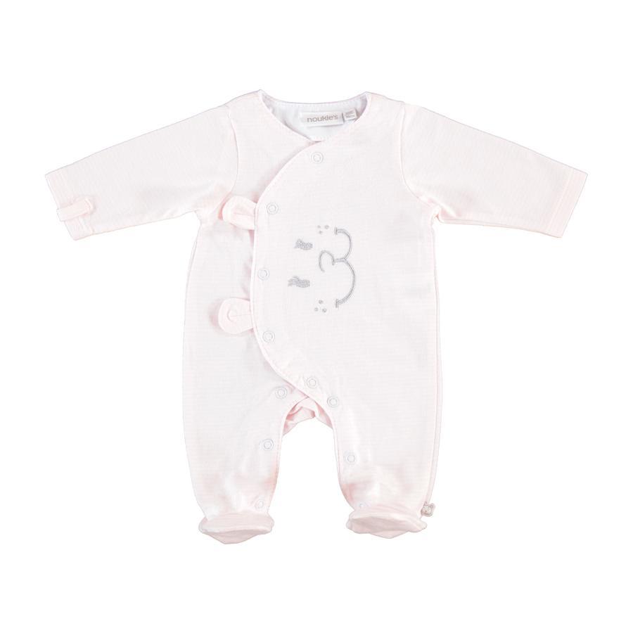 noukie Girl 's Pajamas 1-częściowy różowy