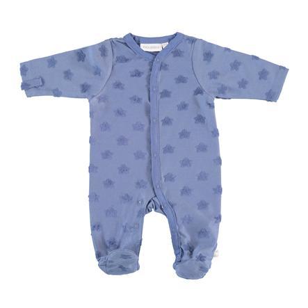 noukie Boys 's pyjama's 1-delige blauwe sterren