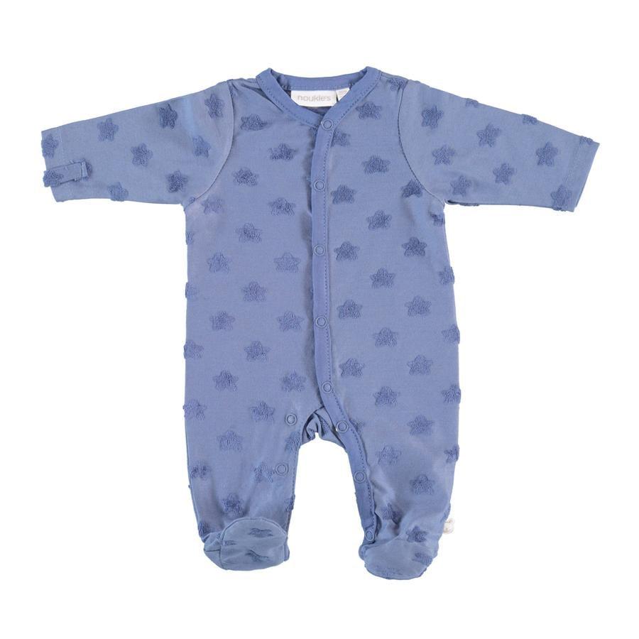 Boys piżamy noukie's 1-częściowe niebieskie gwiazdy