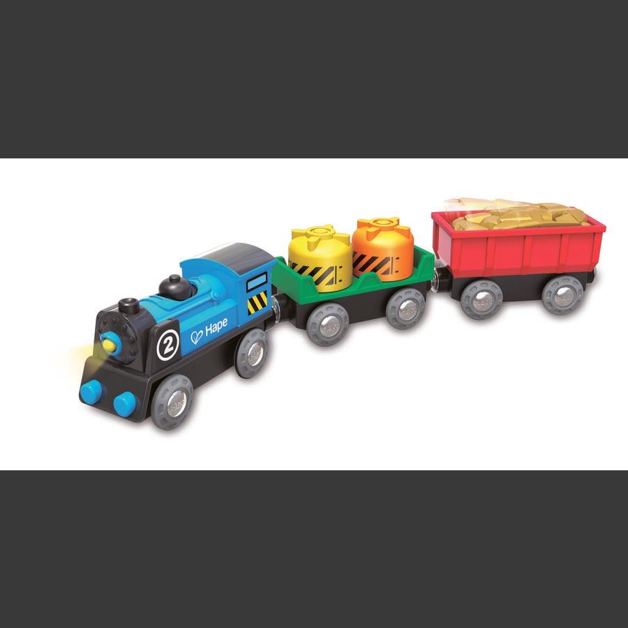 Hape Jouet Train de marchandises à piles E3720