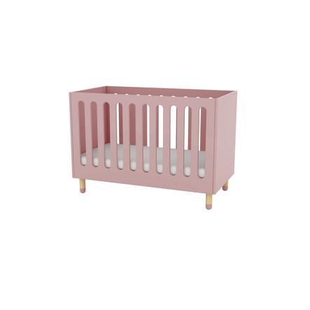 FLEXA Babybett Play rosa inkl. Matratze