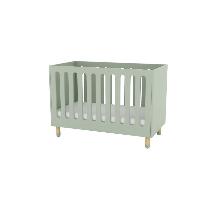 FLEXA Babybett Play mintgrün inkl. Matratze