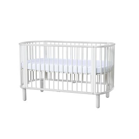 FLEXA Babybett Baby weiß / weiß inkl. Matratze