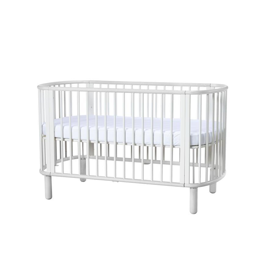 flexa babybett baby wei wei inkl matratze. Black Bedroom Furniture Sets. Home Design Ideas