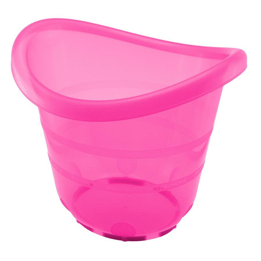 bieco Secchio per il bagnetto rosa