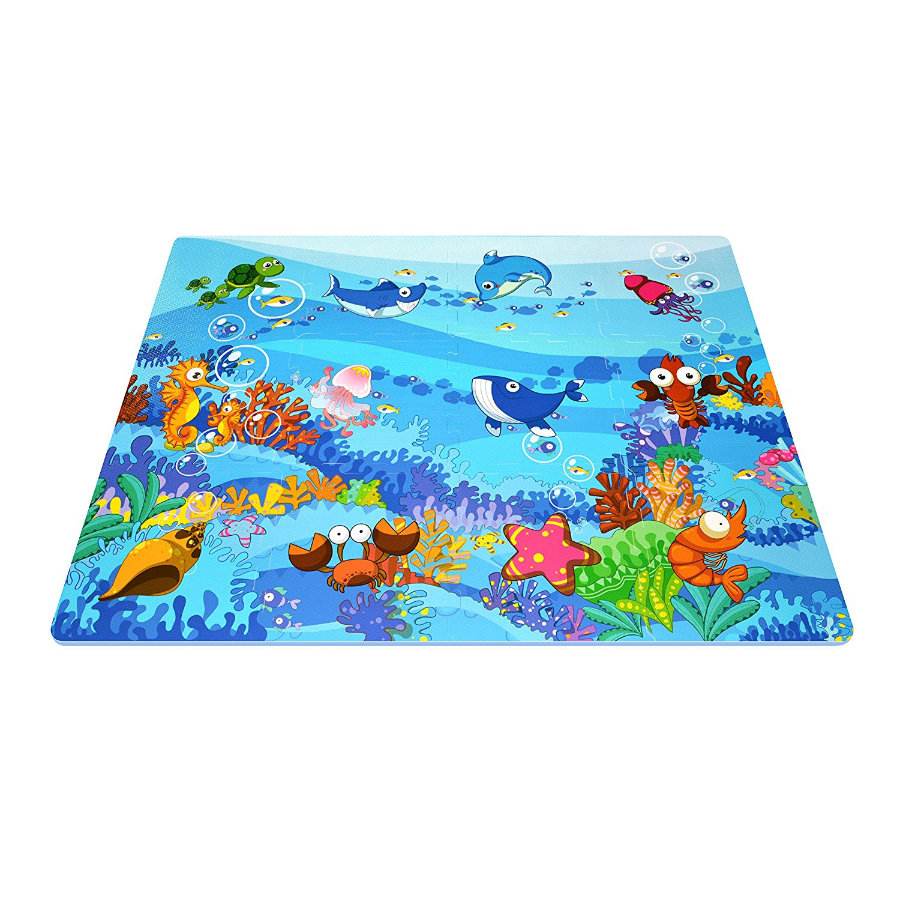 XTREM Toys and Sports - interaktive Puzzle-Matte -  Sea World