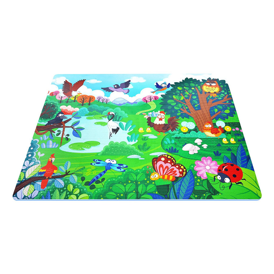 XTREM Toys and Sports - interaktive Puzzle-Matte -  Flying World