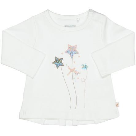 STACCATO Girls Langærmet shirt offwhite