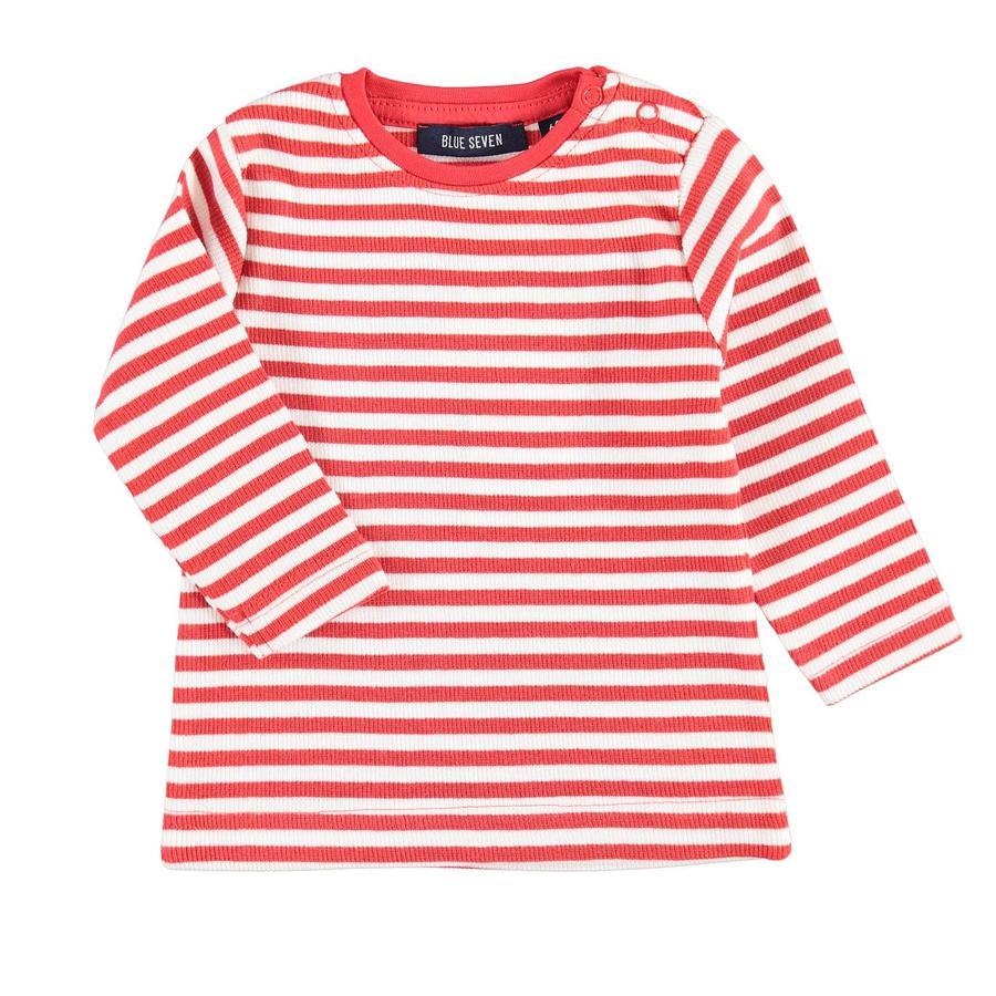 BLUE SEVEN Girl s camisa de manga larga roja