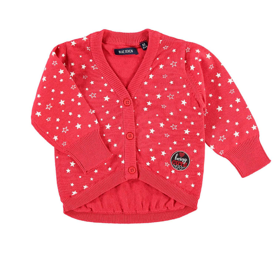 BLUE SEVEN Girls Strickjacke rot
