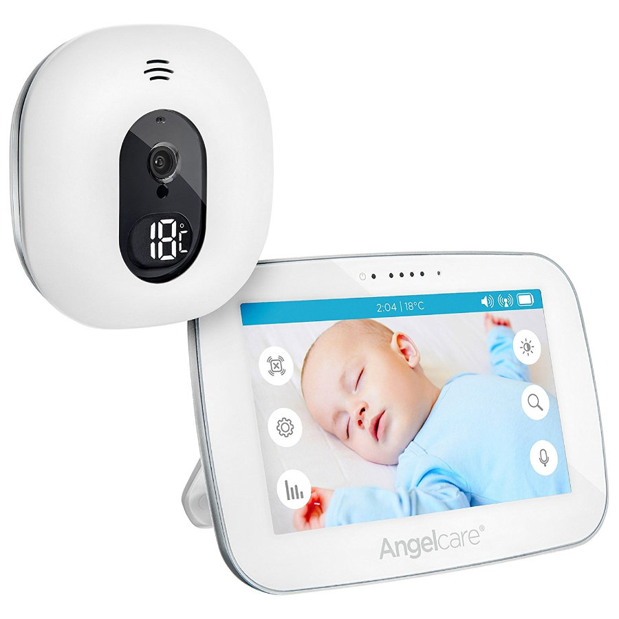 "Angelcare® Babyphone AC510-D mit Video - Überwachung, 5"" LCD-Display"