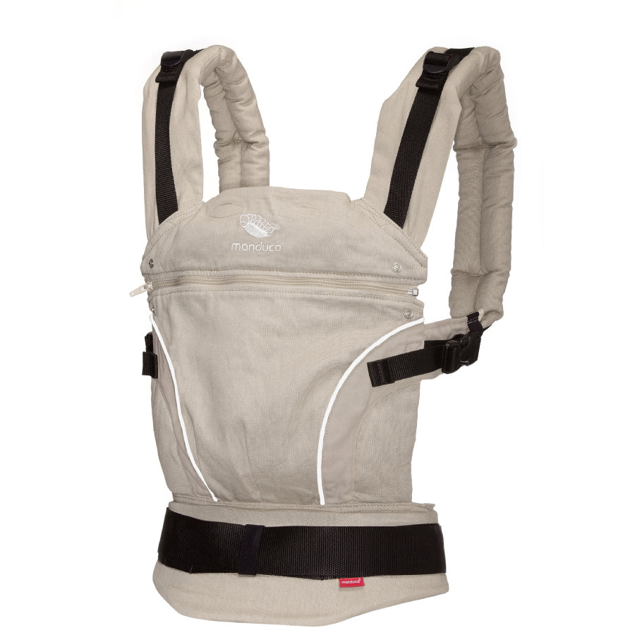 MANDUCA Baby Carrier PureCotton Sand - The carrier that grows with your child!