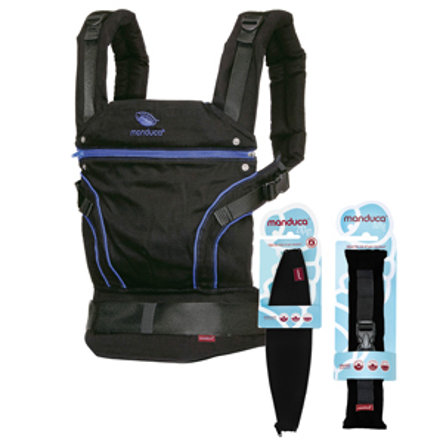 manduca Portabebés BlackLine Premium Bundle AbsoluteBlue