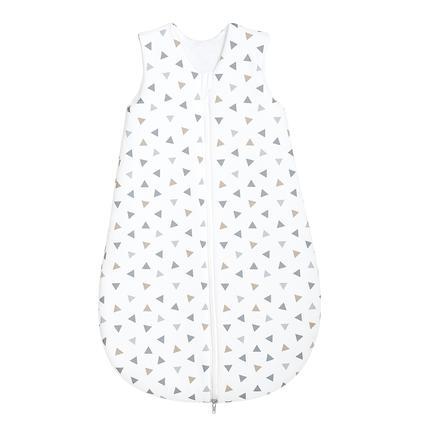 odenwälder Śpiworek Jersey Trójkąciki, srebrny 70 - 110 cm