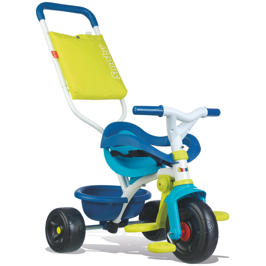 Smoby Be Fun Komfort Dreirad blau