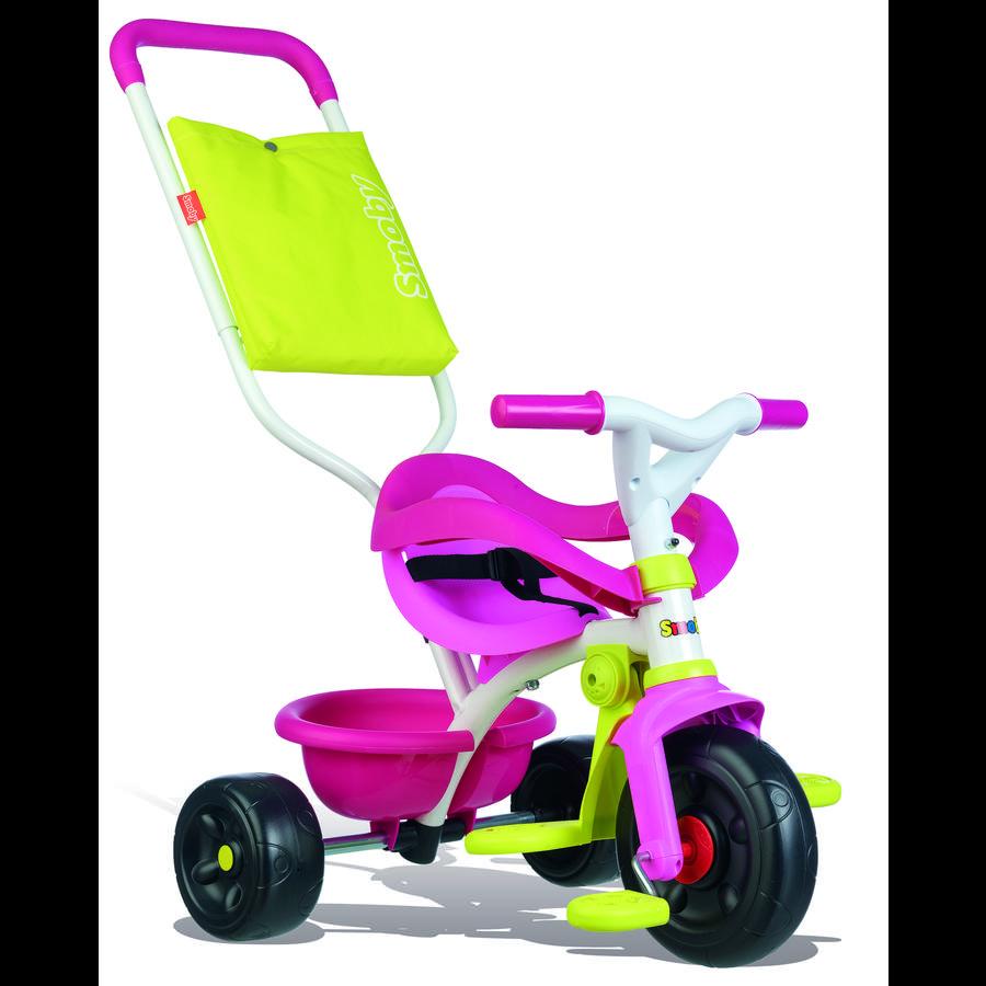 SMOBY Be Fun Komfort Kolmipyörä, vaaleanpunainen