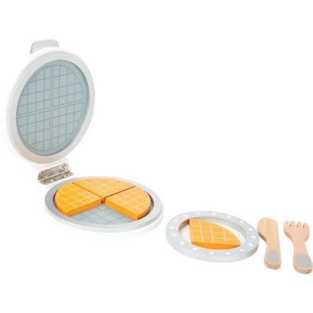 small foot design® Dřevěný vaflovač s příslušenstvím