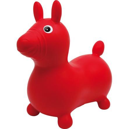 small foot design® Skákací kůň červený