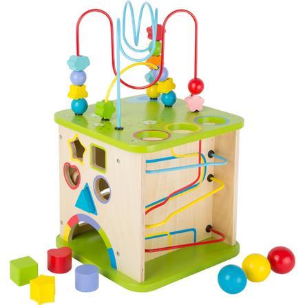 small foot® Cubo de actividades con pista de bolas