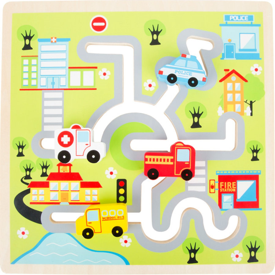 small foot design® Schiebe-Puzzle City