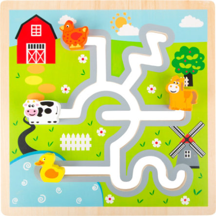 small foot design®  Posuvné puzzle Farma