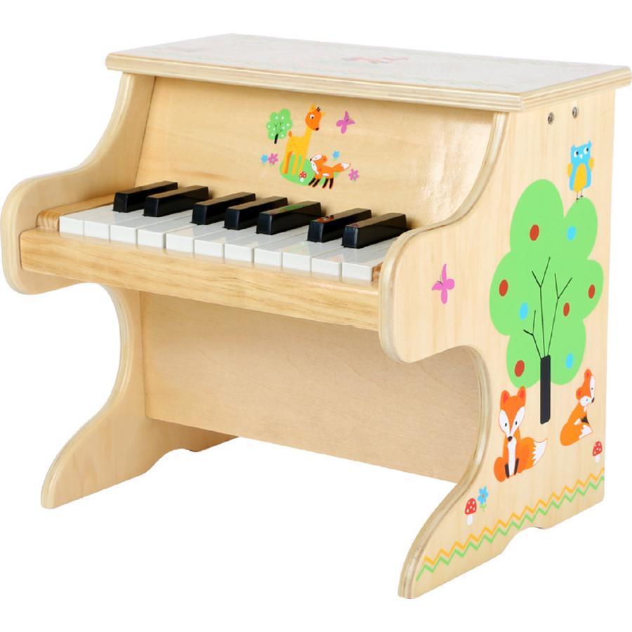 small foot design® Dřevěný klavír přírodní s liškou