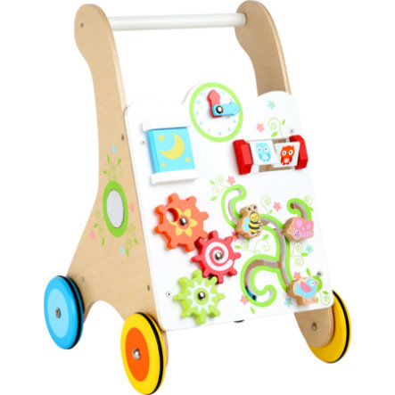small foot design® Loopwagen Kakelbont