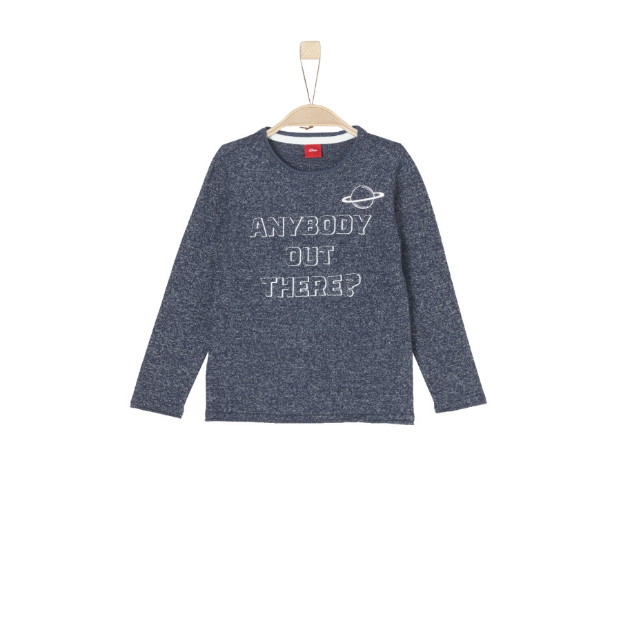 s.Oliver Boys Strickpullover blue knit