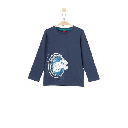 s.Oliver Långärmad tröja dark blue