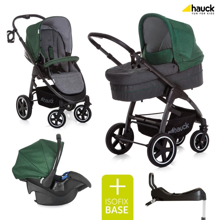 hauck Soul Plus Trioset Emerald con base Isofix Comfortfix