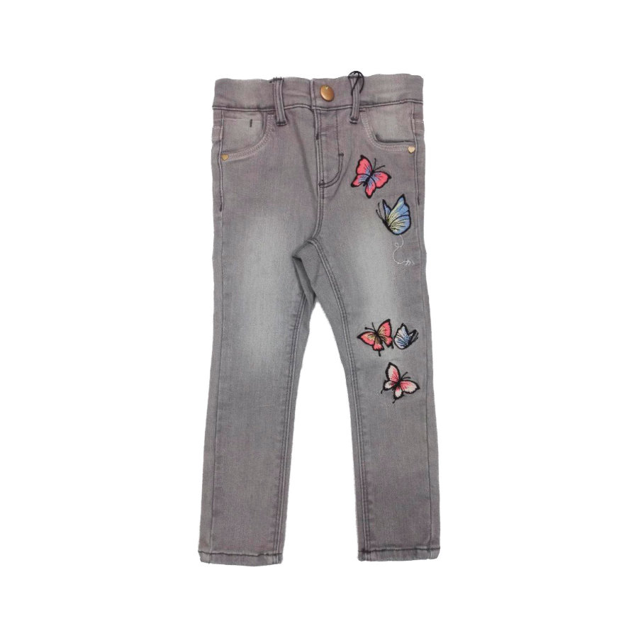 name it Girl s Jeans Nmfpolly denim gris medio