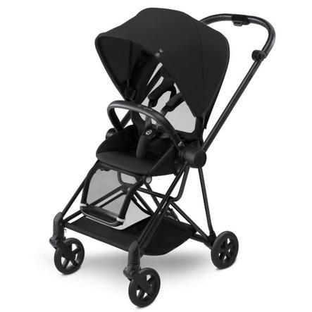 cybex PLATINUM Kinderwagen Mios Matt Black inklusive Color Pack Stardust Black