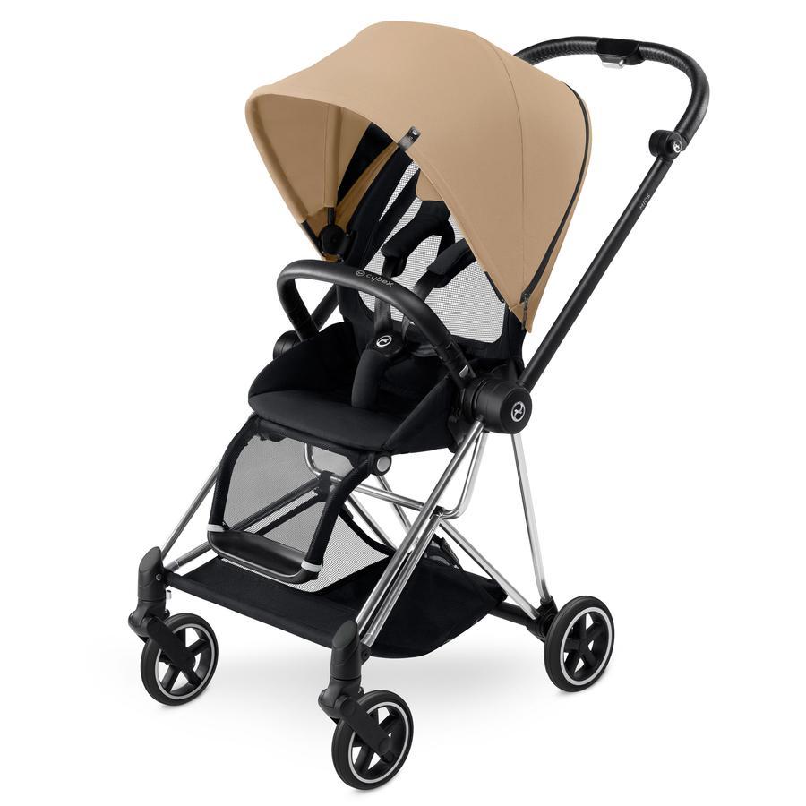 cybex PLATINUM Kinderwagen Mios Chrome inklusive Color Pack Cashmere Beige