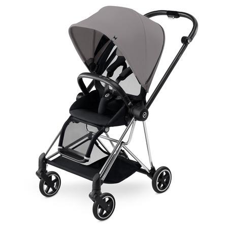 cybex PLATINUM Kinderwagen Mios Chrome inklusive Color Pack Manhattan Grey