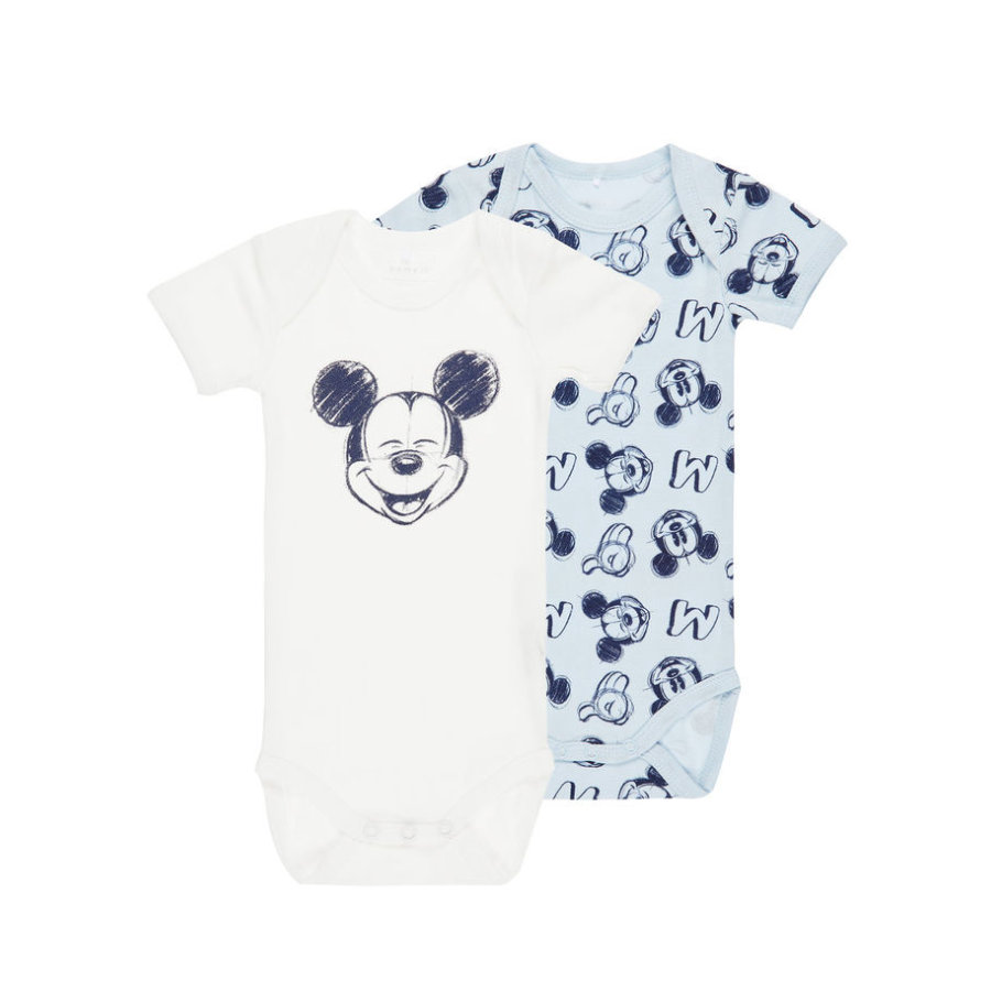 name it Boys Body 2er-Pack Mickey baby blue
