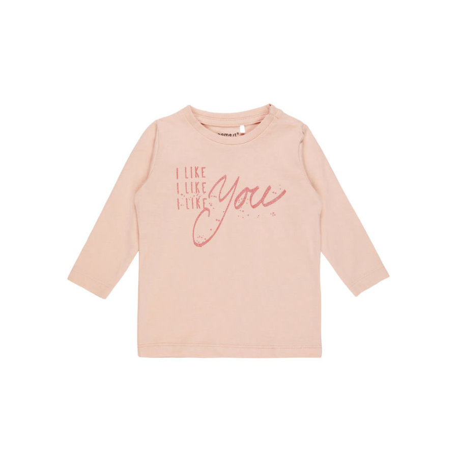 name it Girl s Chemise manches longues Fidas rose