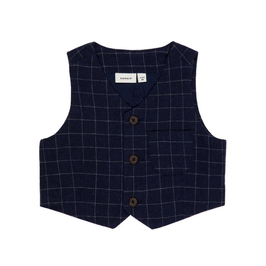 name it Boys Vest Fittin sukienka blues