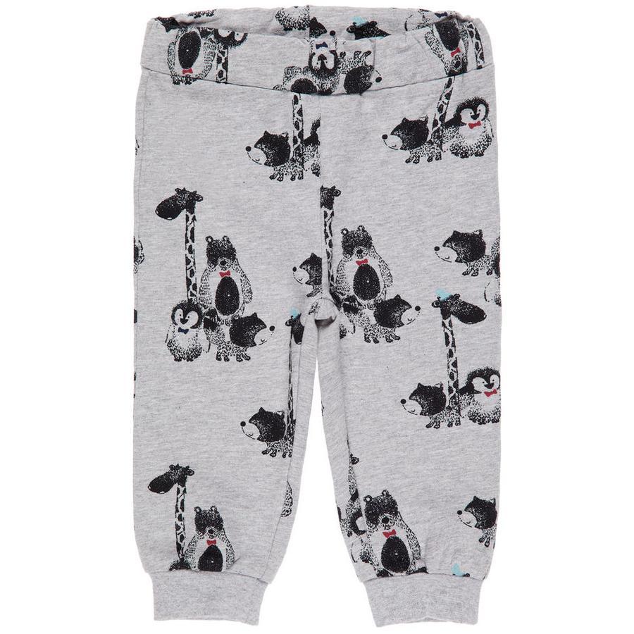name it Boys Pantalones de chándal Finn gris mélange